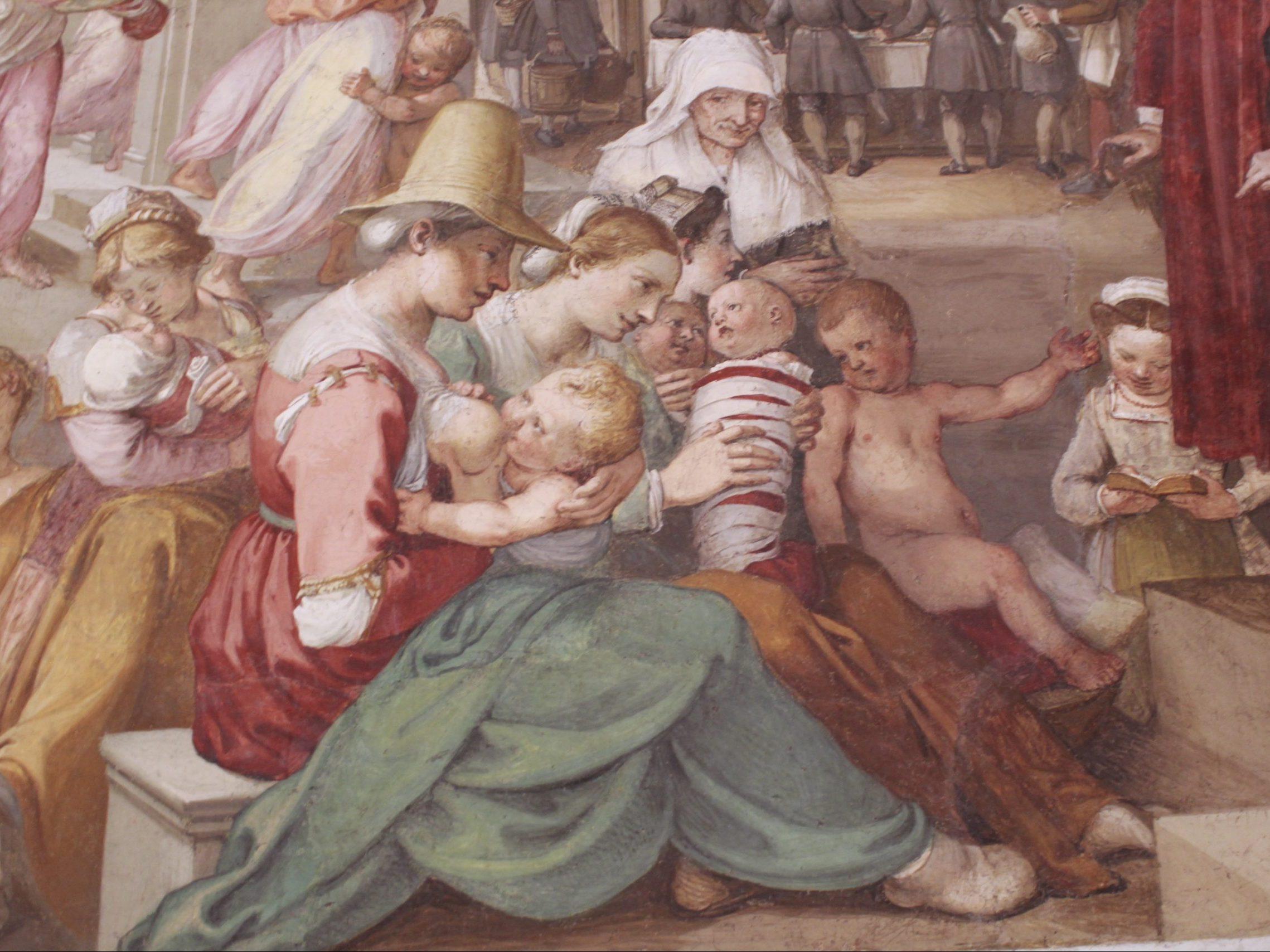 percorso storia Museo degli Innocenti
